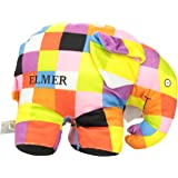 Elmer 30cm Super Soft Patchwork Soft Toy-