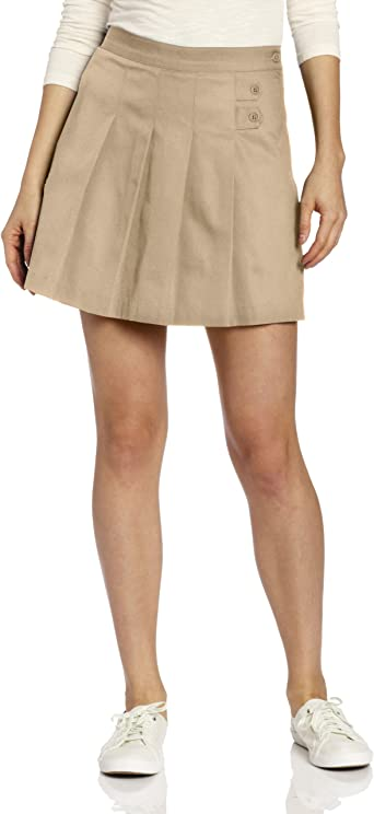 CLASSROOM. Falda pantalón clásica plisada estilo patinadora ...
