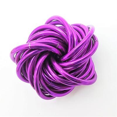 Möbii Amethyst, Medium Mobius Fidget Ball Toy, Stress Ball for Restless Hands