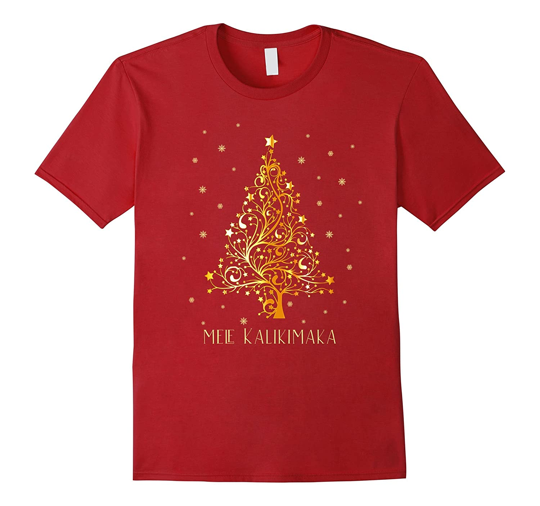 Hawaii Christmas T-shirt Hawaiian Merry Xmas Mele Kalikimaka-ANZ ...