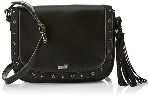 Colly, Womens Cross-Body Bag, Negro (Noru Negro), 23x22x7.5 cm (W x H L) Mtng