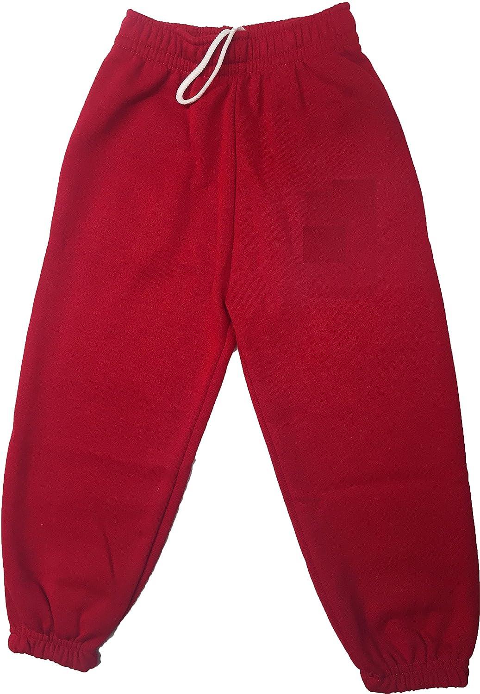 Ayra Boys Girls Childrens Kids School PE Fleece Jogging Tracksuit Bottoms Trousers