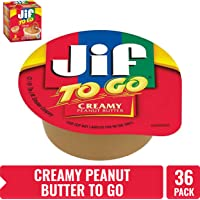 36-Count Jif To Go Natural Creamy Peanut Butter