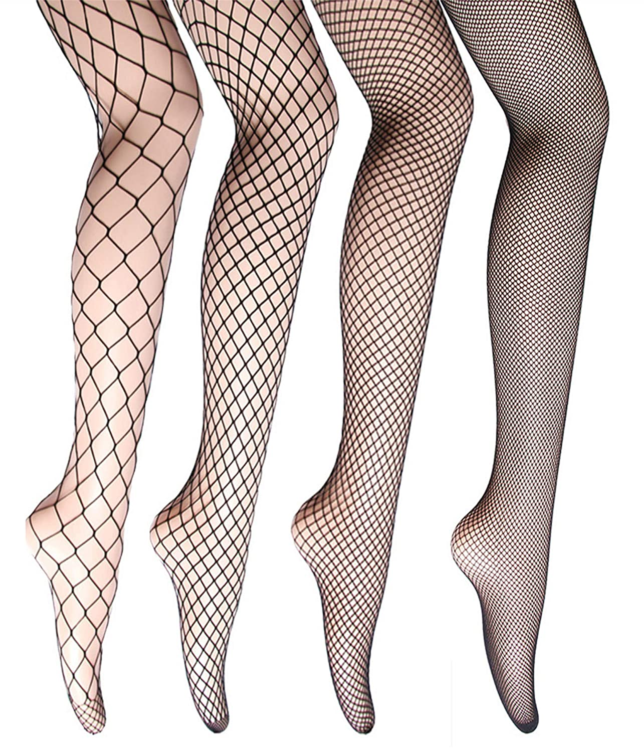 c8faf05b8521ac Fishnet Stockings High Waist Tights for Women Cross Thigh High Pantyhose at  Amazon Women's Clothing store: