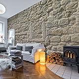 murando Papier peint intissé 500x280 cm - Grand Format XXL- Top vente - Papier peint - Tableaux - muraux- déco - Brique Mur Pierre f-A-0454-a-a