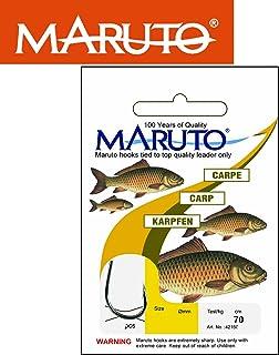 MARUTO Karpfenhaken Gebunden - Angelhaken Zum Karpfenangeln, Karpfenangelhaken, Gebundene Haken