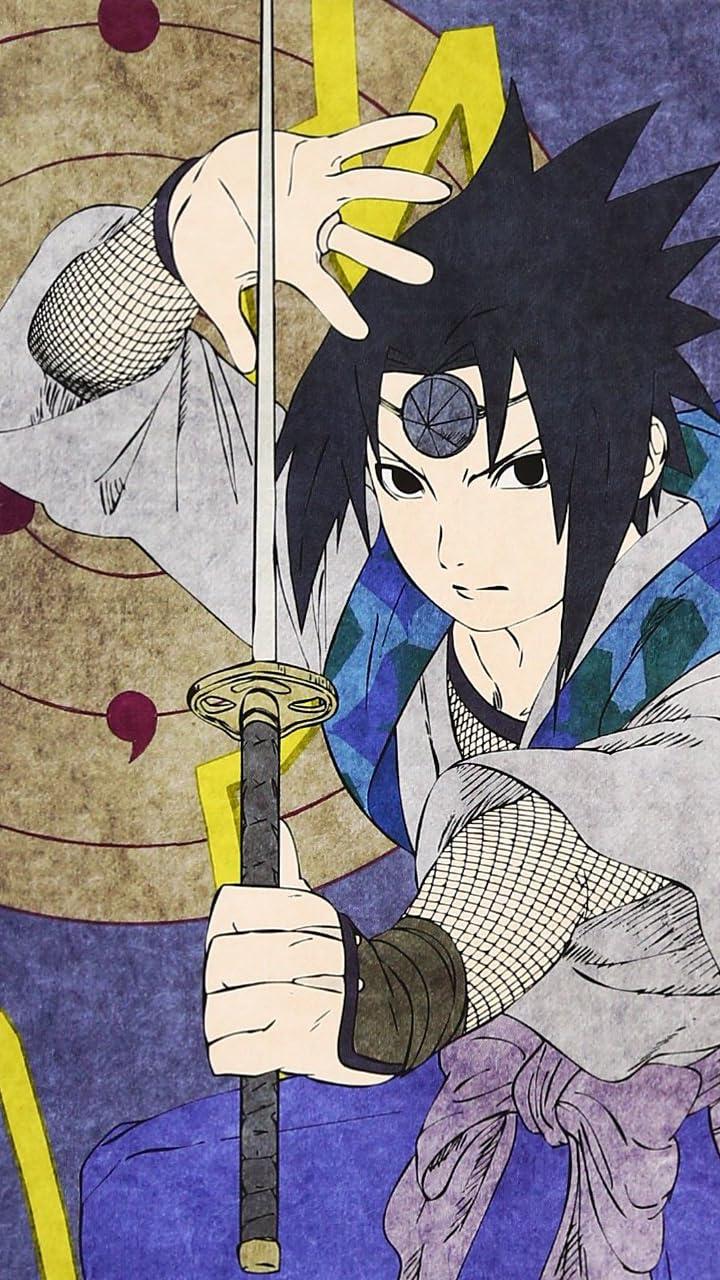 Naruto ナルト うちはサスケ Hd 720 1280 壁紙 画像66803 スマポ