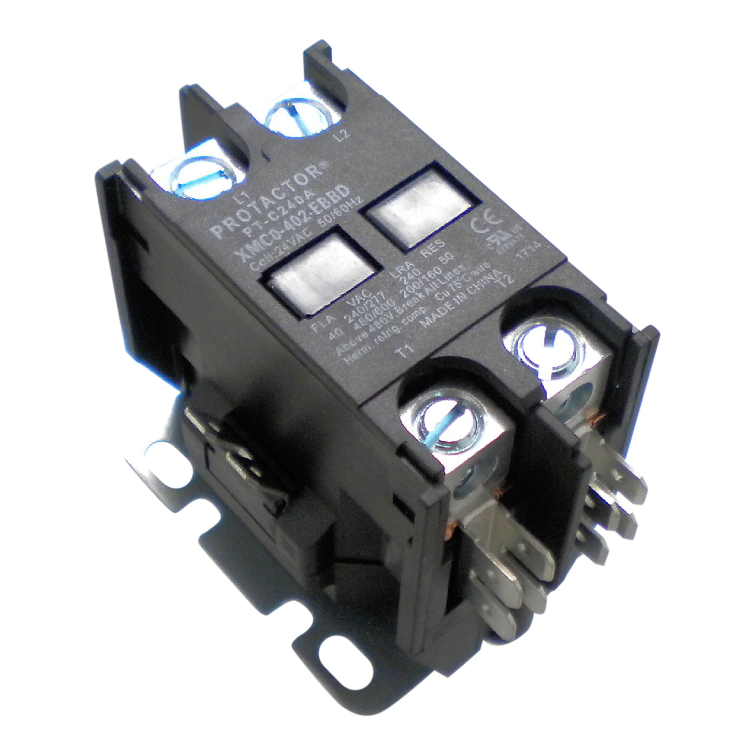 OneTrip Parts Contactor 2 Pole 40 Amp Protactor Heavy Duty Enclosed Replacement For Amana Goodman Janitrol CONT2P040024VS