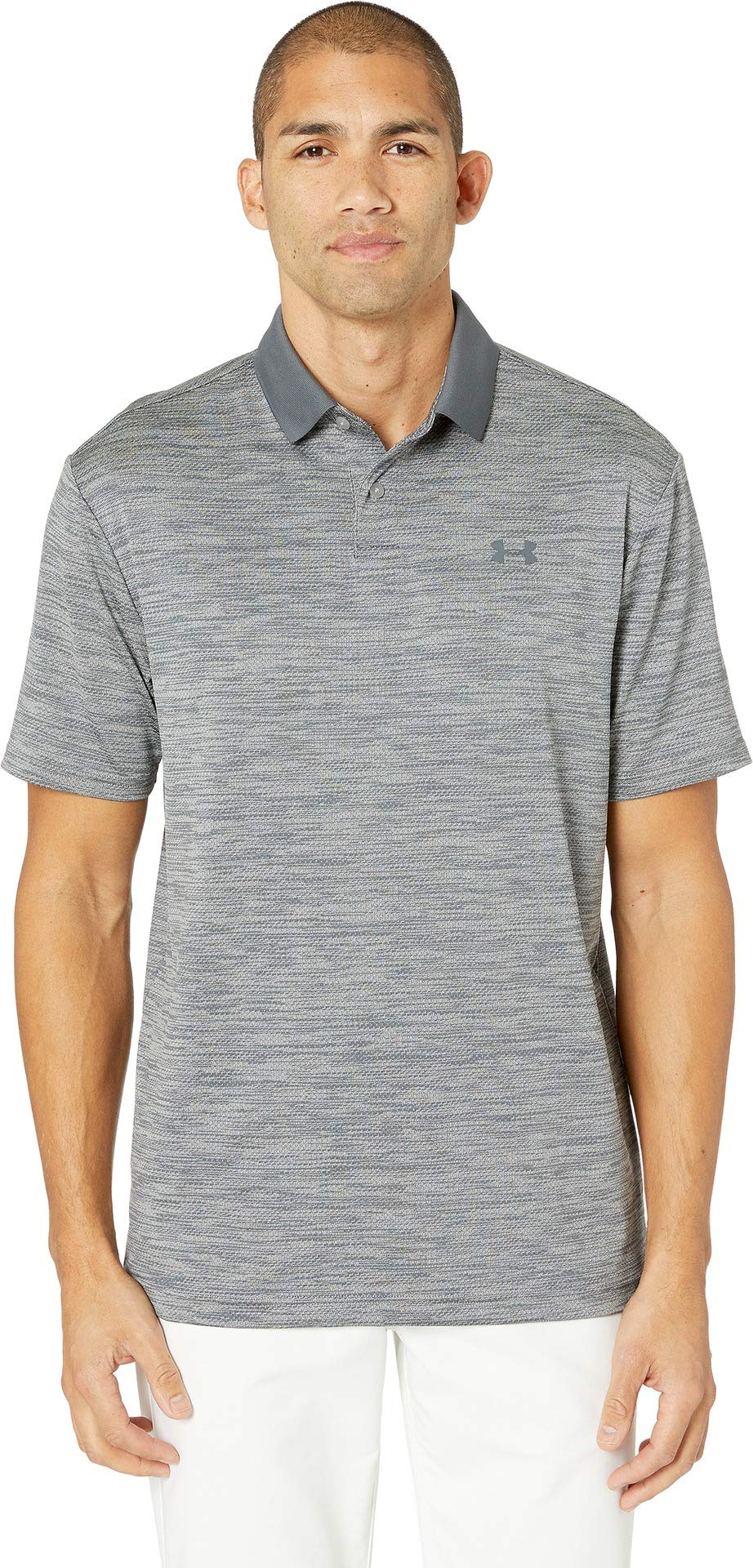 Under Armour Men's Performance Polo 2.0, Steel//Pitch Gray, XX-Large by Under Armour