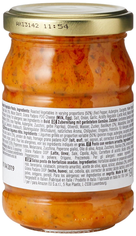 Marca Amazon - Wickedly Prime Pesto de hortalizas asadas (6x190g): Amazon.es: Alimentación y bebidas
