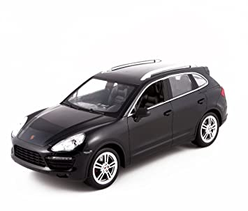 WebRC Porsche Cayenne Turbo RC Car (1:14 Scale), Black