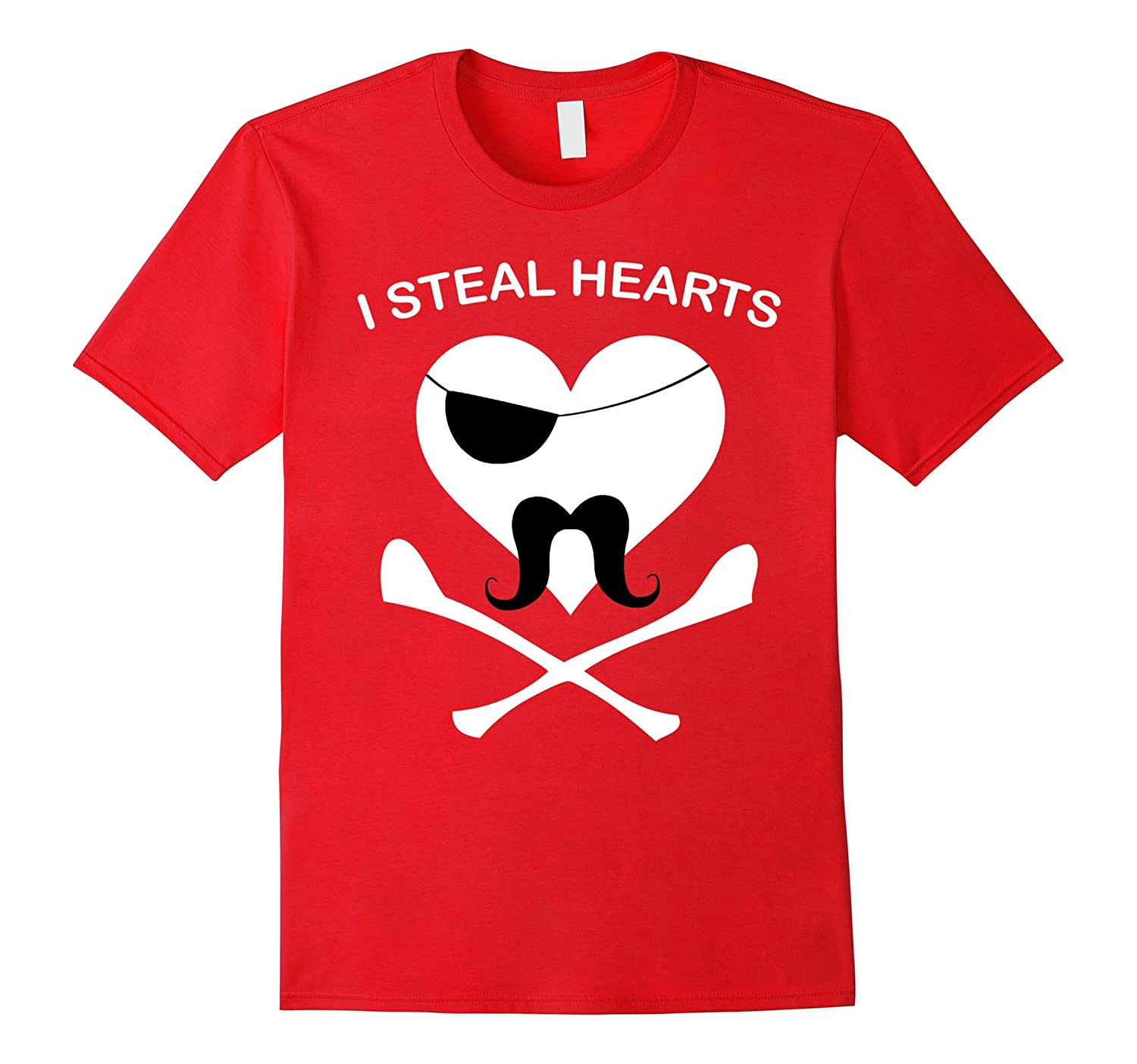 Funny I Steal Hearts Valentines Day TShirt-ah my shirt one gift