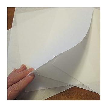 """Tear Away – Estabilizador para máquina de coser base Precut hojas 8 """"x8"""""""