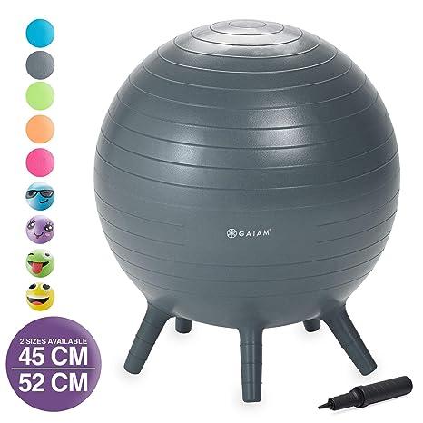 Gaiam - Pelota de ejercicio Stay-N-Play para niños, silla para ...
