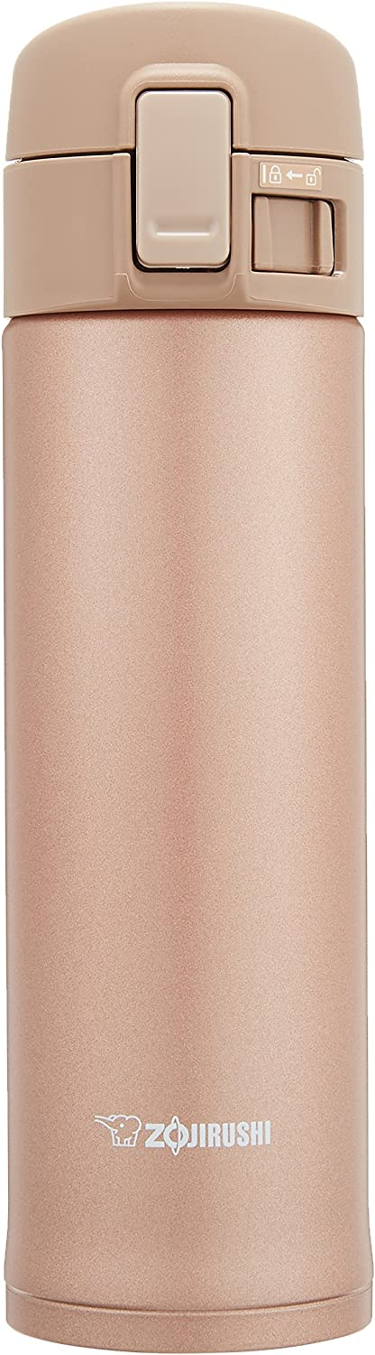 Zojirushi SM-KC48 Stainless Mug, Rose Gold