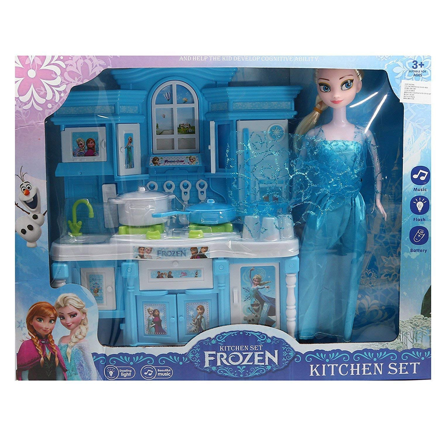 Buy crazy toys frozen kids kitchen set online at low prices in india amazon in