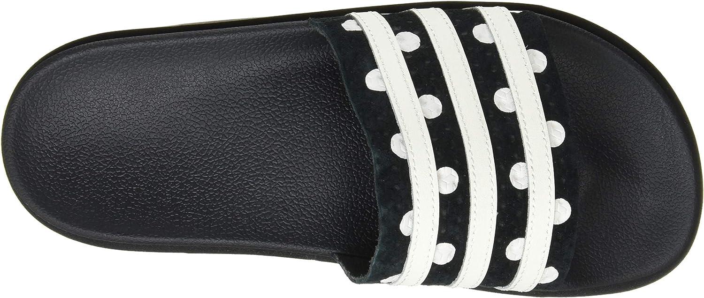 adidas Adilette Bold W, Chaussure de Gymnastique Femme Core Black Ftwr White Core Black