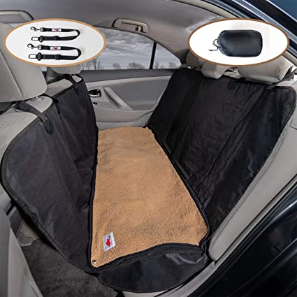 Fine Ultimate Pet Seat Cover And Dog Hammock For Cars Suvs And Trucks With Detachable Fleece Mat Cjindustries Chair Design For Home Cjindustriesco
