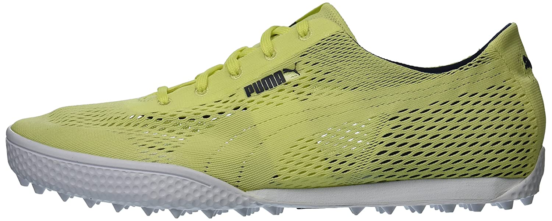PUMA Women's Monolite Cat Woven Golf Shoe B075X48HZK 9 B(M) US|Sunny Lime/Sunny Lime