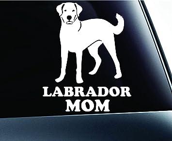 labrador retriever mom dog   truck sticker vinyl funny car decal