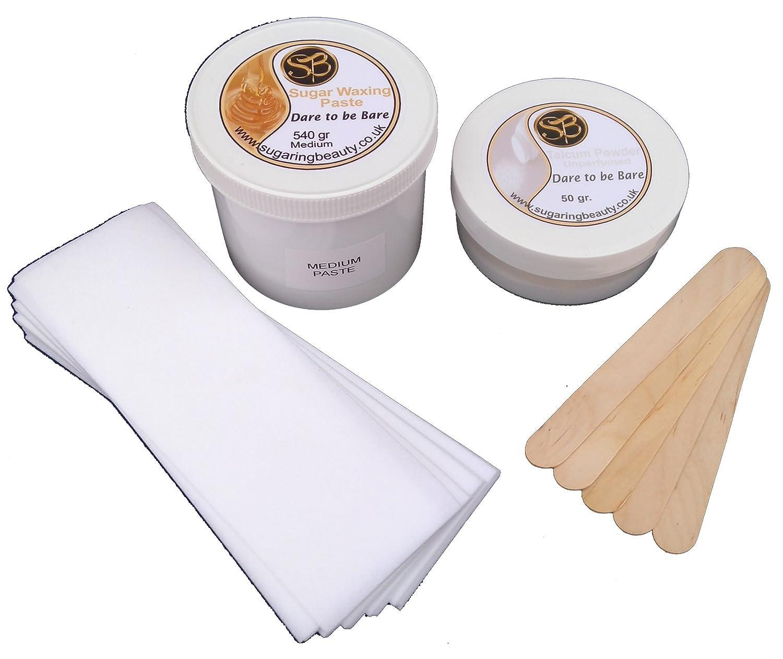 540 Grams Sugaring Hair Removal Kit - Medium Paste Sugaring Beauty