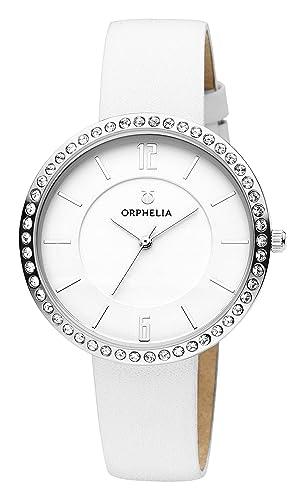 93ccfc1c3a Orphelia Femme Analogique Classique Quartz Montre avec Bracelet en Cuir  OR11721