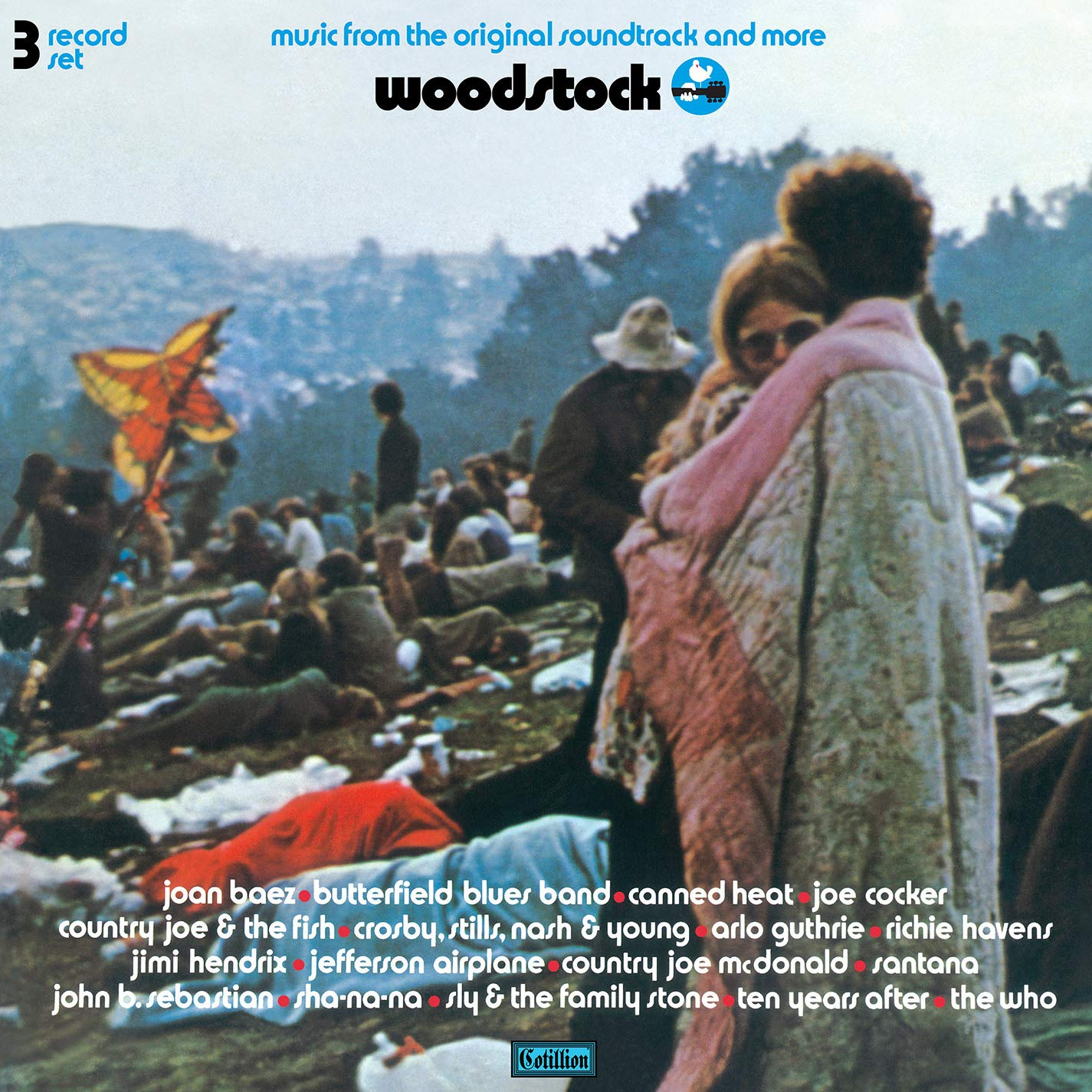 Woodstock - Music From The Original Soundtrack And More (3LP Colored Viny) by Atlantic Catalog Group