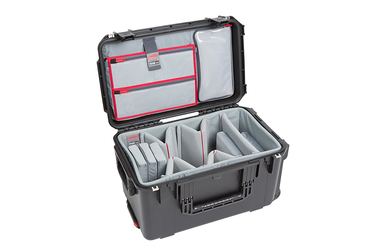 iSeries 2213-12 Case with Think Tank-Designed Video Dividers &Lid Organizer (Black)   B01MQGP8UZ
