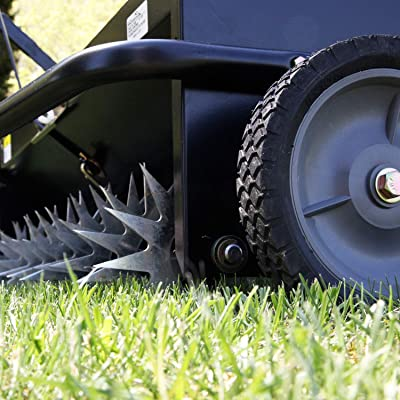 """Tine Tow Dethatcher Lawn Tractor Attachment 40/"""" Rust Proof /& Durable"""
