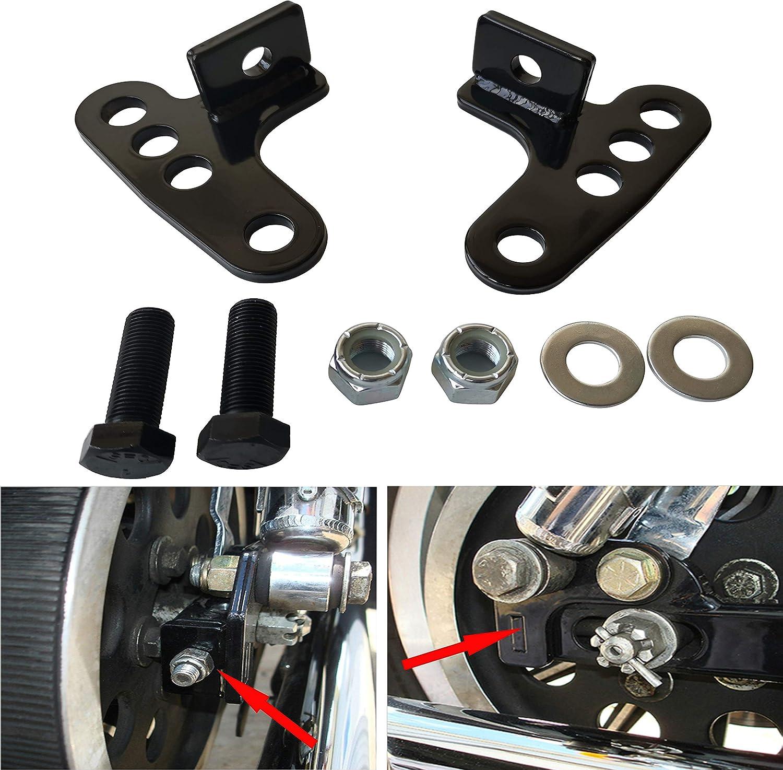 Rear Adjustable Lowering Kit 1-3 for Harley Davidson Sportster XL883//1200 Custom