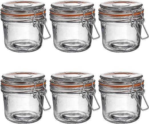 Botes de cocina para almacenar alimentos - Cristal - 350 ml - Pack ...