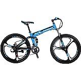Extrbici G4 マウンテンバイク MTB 自転車 折りたたみ 自転車 シマノ21段変速 26インチ アルミフレーム ディスクブレーキ