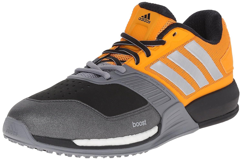 adidas Performance Men's Crazytrain Boost Cross-Training Shoe B0111QTYCG 7 D(M) US Equipment Orange/Metallic Silver/Grey