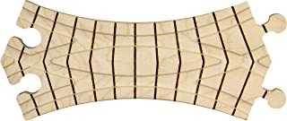 product image for Wooden Train Track - Curved Crossover - Made in USA