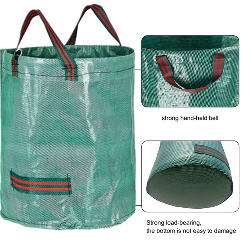 3 x 272L Bolsas para Desechos de Jardín y 1 guantes, Saco para ...
