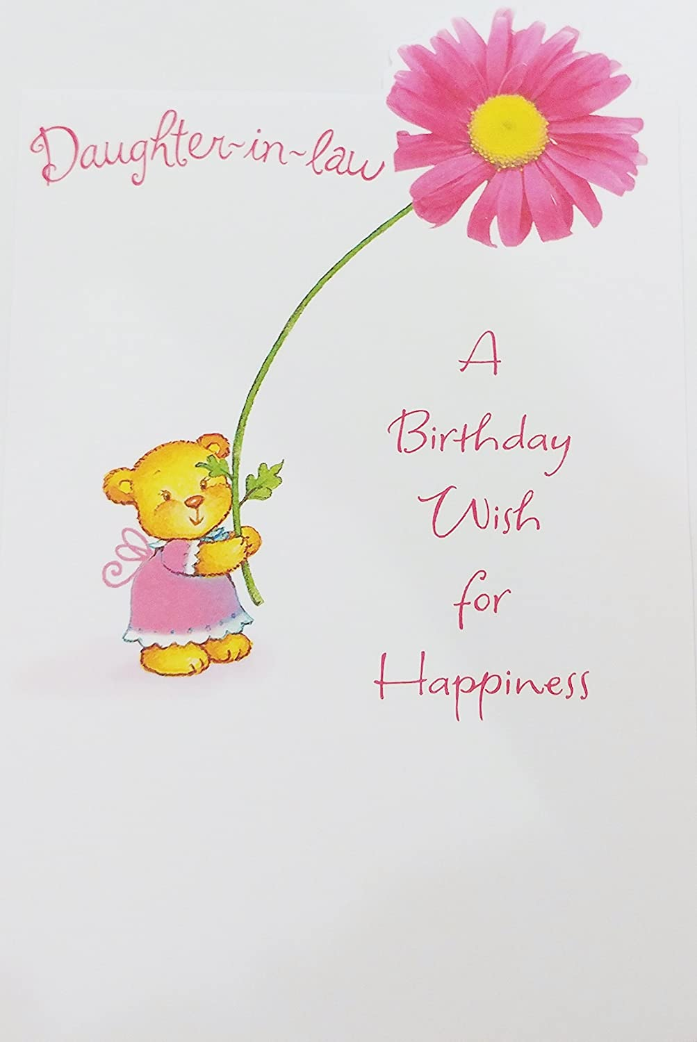 Amazon Daughter In Law A Birthday Wish For Happiness