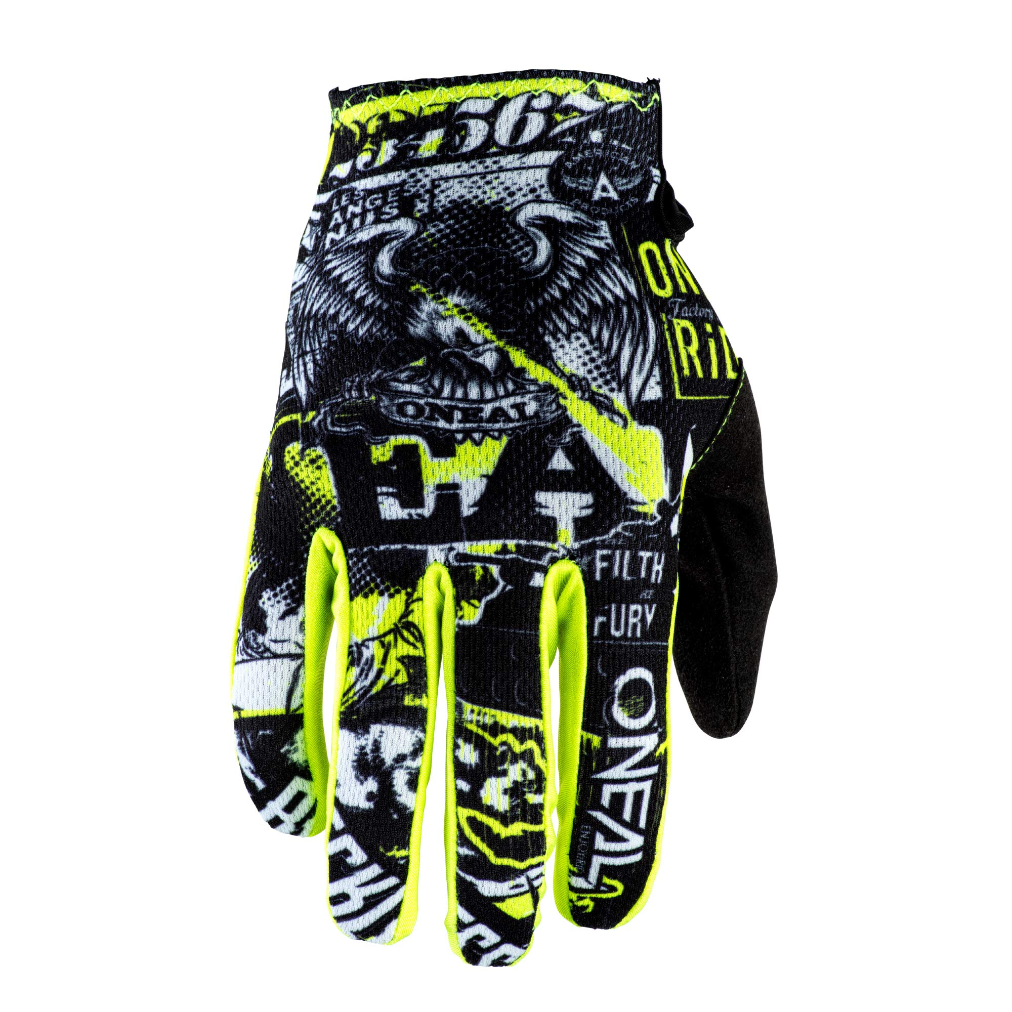 O'Neal - 0391-205 Matrix Unisex-Child Youth Glove (Black/neon/Yellow, 5 MED), 2 Pack