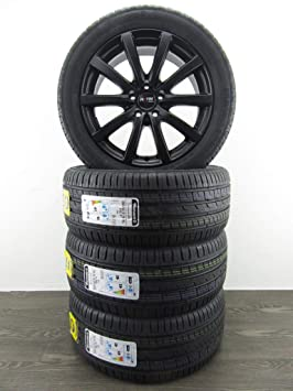 4 ruedas de verano de 18 pulgadas para Mercedes E 238 213 GLA S Vito 447 Platinum P Barum.: Amazon.es: Coche y moto