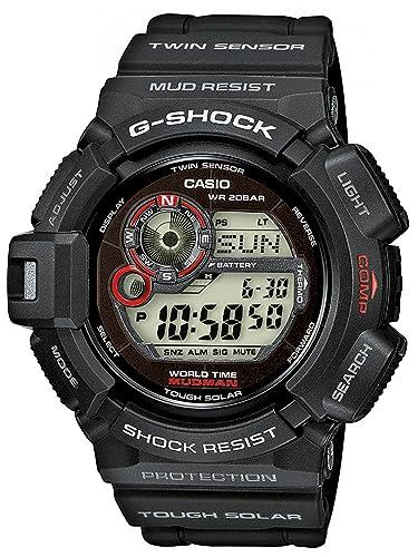 Casio G-Shock Tough Solar Reloj para hombres Brújula, marea, termómetro: Amazon.es: Relojes