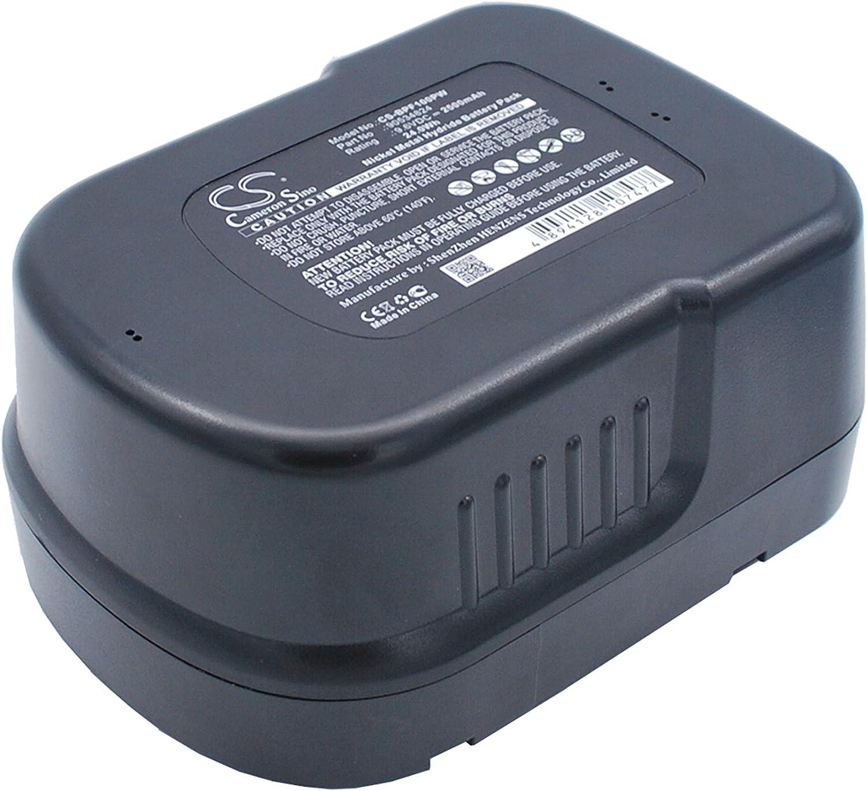 Cameron Sino Replacement Battery for Black & Decker FSB96, GC960, HPB96, SF100 Power Tools, 2500mAh