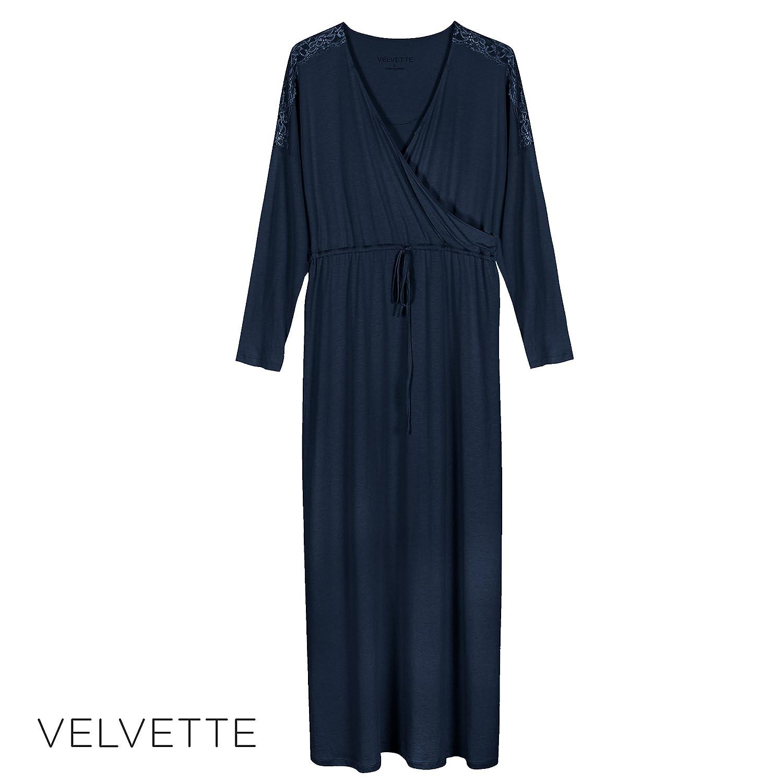 e2c649c86f3 Beautiful Plus-Size Women s Pima Cotton   Modal Long Weekend Robe at Amazon  Women s Clothing store