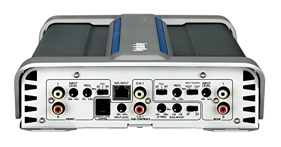 Infinity REF5350A - Amplificador de audio (terminales de abrazadera, 10-14 V, 75 A) color aluminio: Amazon.es: Electrónica