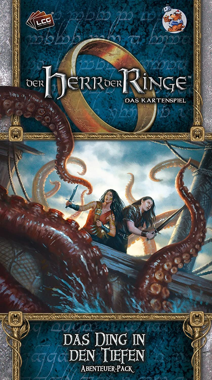 Fantasy Flight Games ffgd2646 el señor de los Anillos: LCG – El Ding en los Profundos: Amazon.es: Juguetes y juegos