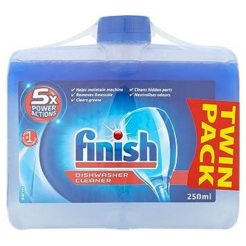 Finish Detergente para Lavavajillas - 2 x 250 ml: Amazon.es: Salud ...