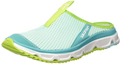 Salomon Damen RX Slide Traillaufschuhe  39 1/3EUBlau (Aruba Blue/White/Lime Green)