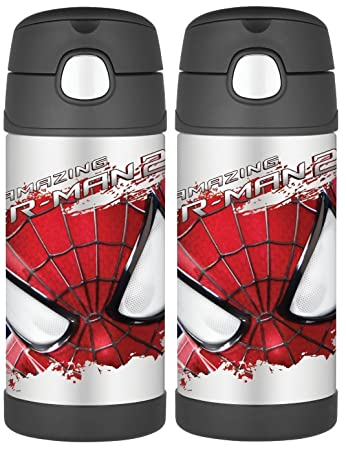 Thermos Funtainer 12 Ounce Bottle, Spiderman