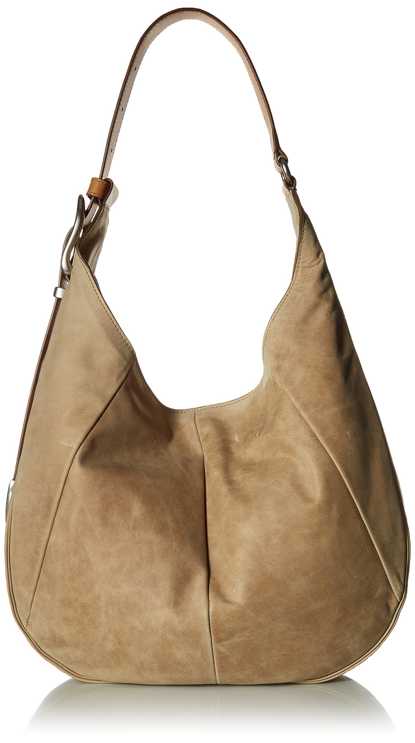 FRYE Jacqui Hobo Leather Shoulder Bag, Sand by FRYE