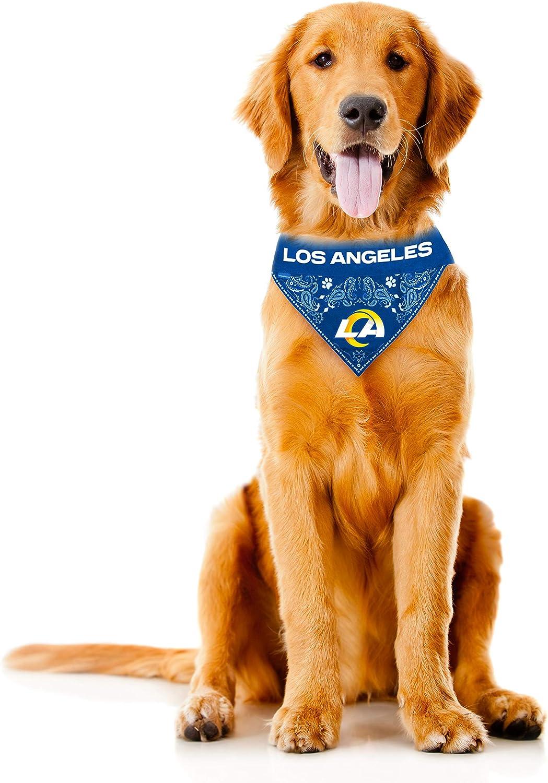 Littlearth NFL Los Angeles Rams Pet Bandana