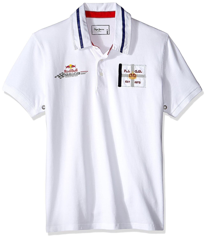 Pepe Jeans London Polo Overtake Blanco XS: Amazon.es: Ropa y ...