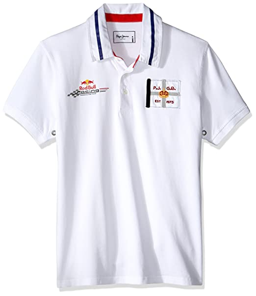 329b5e6d93f Pepe Jeans London Polo Overtake Blanco XS  Amazon.es  Ropa y accesorios